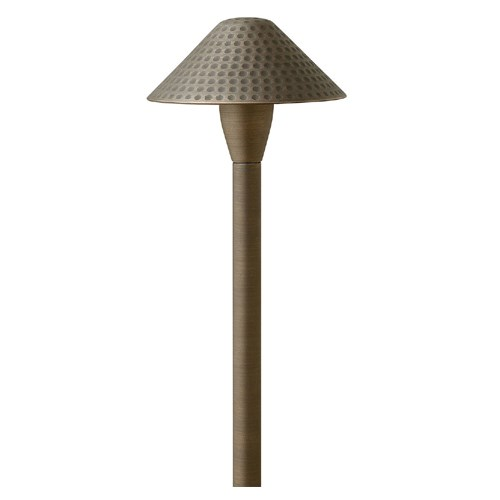 View Hardy Island Small Hammered LED Path Light