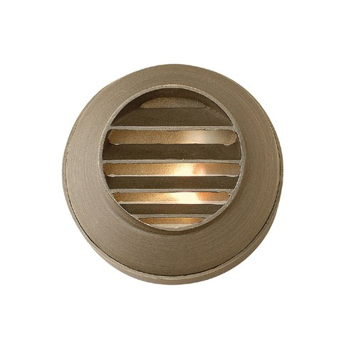 View Hardy Island Round Louvered Deck Sconce