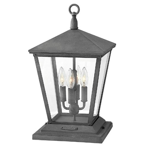 View Trellis Large Pier Mount Lantern