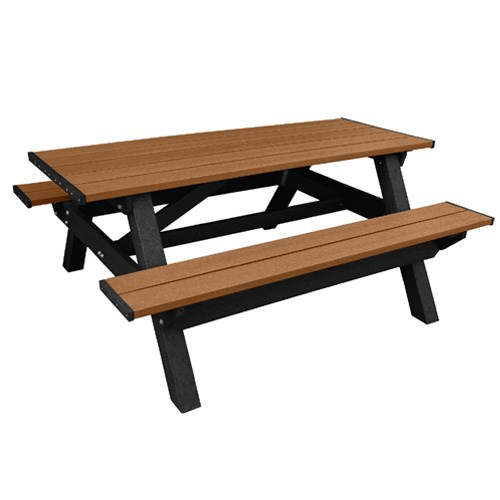 View DOGIPARK®  6' Poly Picnic Table ( 7791-BC )