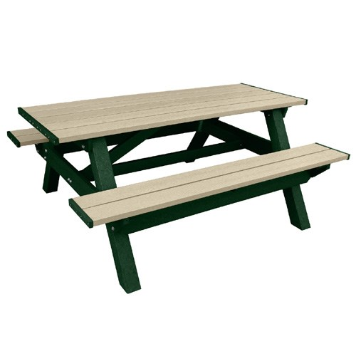 View DOGIPARK® 6' Poly Picnic Table ( 7791-GS )