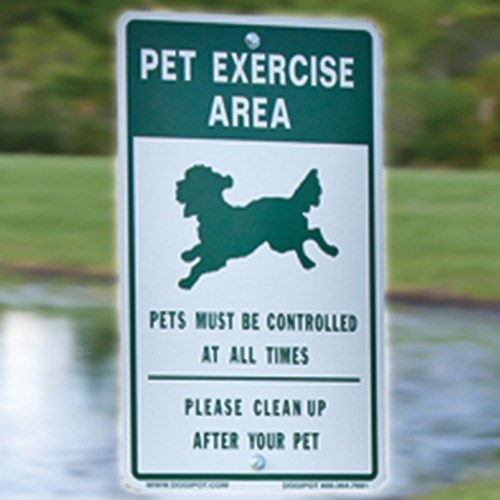 "View DOGIPOT® Pet Sign ""Off Leash"""