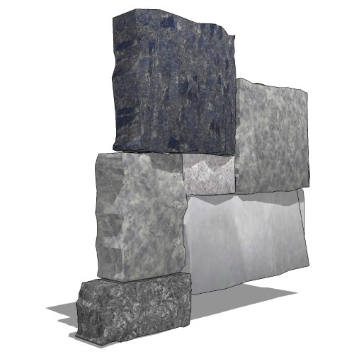 View Thin Stone Veneer: Oyster Bay Square & Rectangular