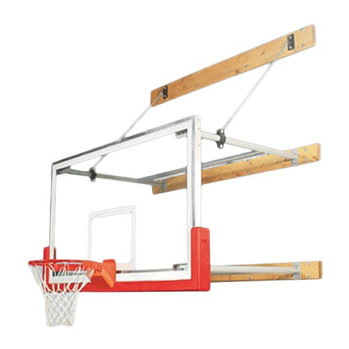 View Wall-Mounted Stationary Basketball Goal