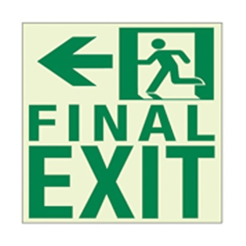 View RAF2128 Luminous Final Exit Sign