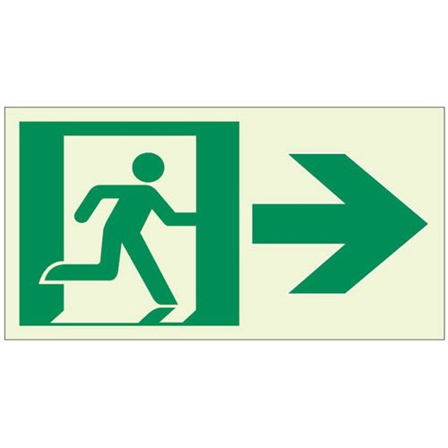 View RA02012 Luminous Directional Exit Sign
