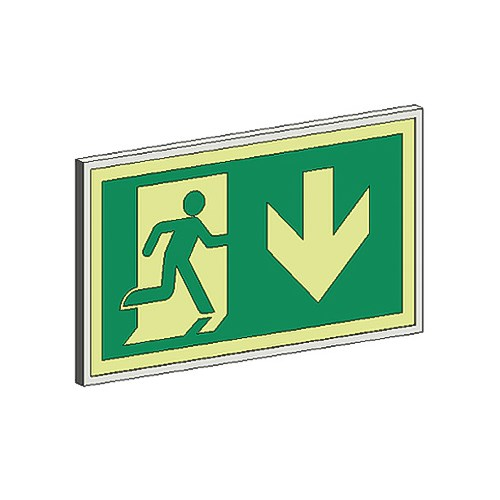 View RM Standard Series Exit Signs: 75 Ft. Rated Visibility