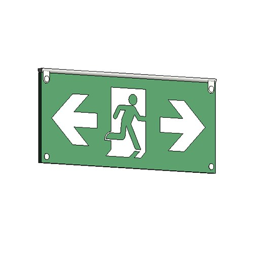 View RM Architectural Series Exit Signs: Bi-Directional
