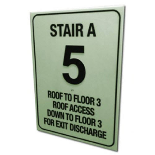 View Luminous Floor Identification Signs (FID)
