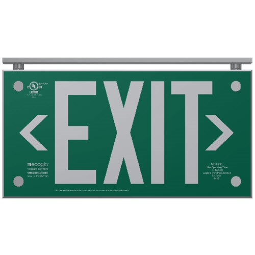 View EXAL Series Architectural Series Exit Signs: 75 Ft. Rated Visibility