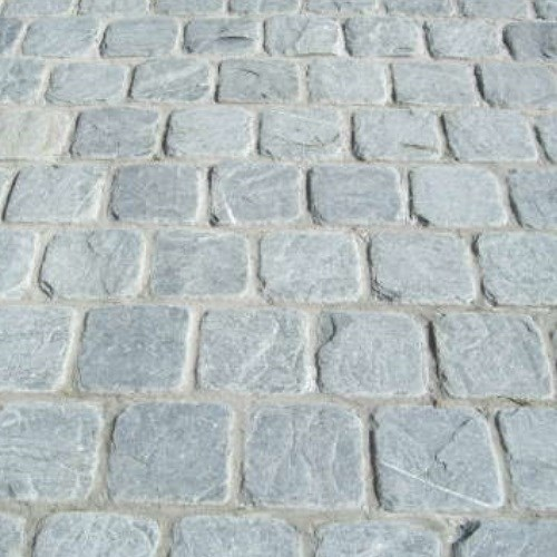 View Ocean Pearl Thin Cobbles
