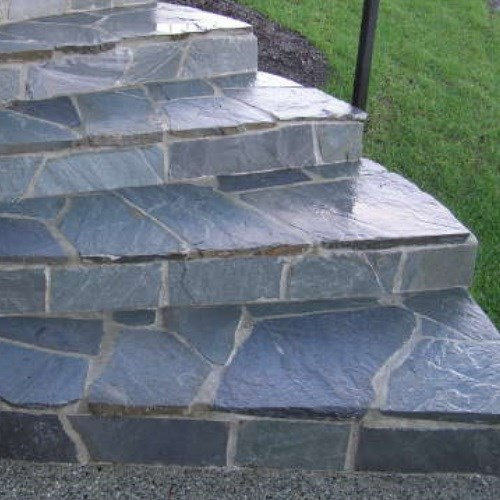 View Ocean Pearl Flagstone Chips