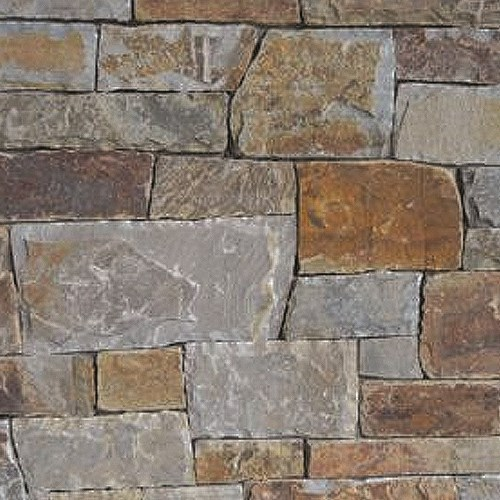 View Autumn Gold Full Bed Ledgestone