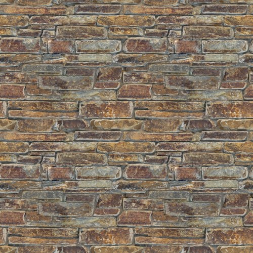 View Autumn Flame Ledgestone Veneer