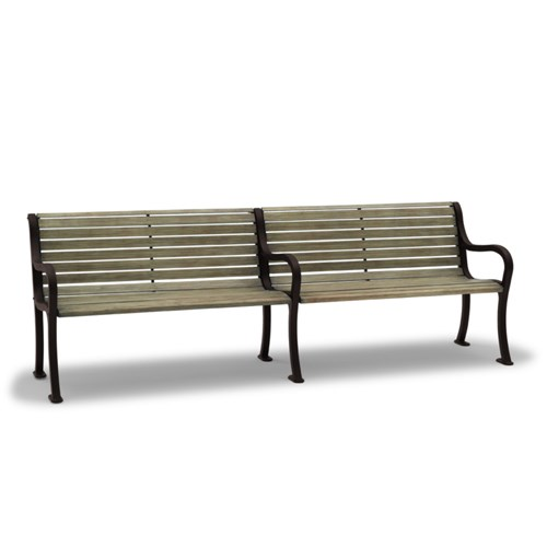View Covington 8' bench with back