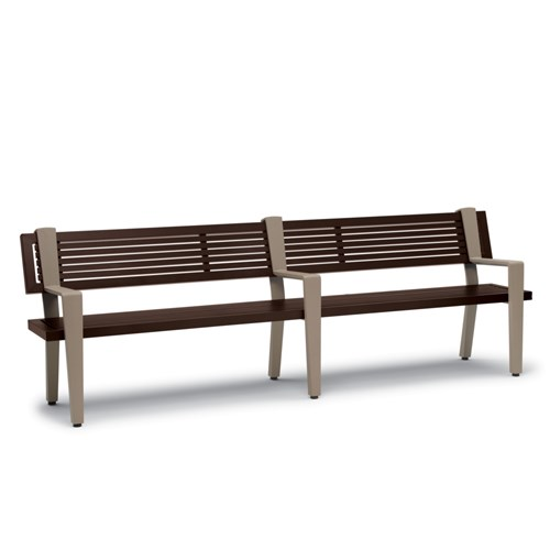 View Rockport 8' bench with back