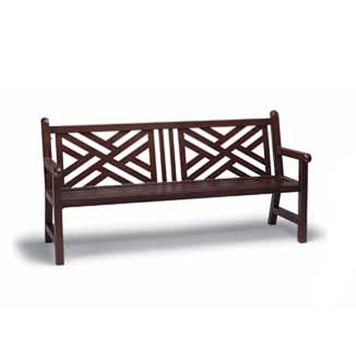 View Yorktown 6' chippendale back bench