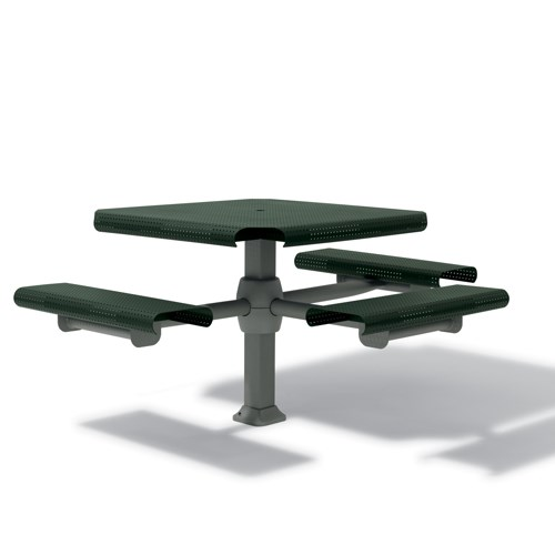 "View Portage 46"" square table- 3 seats"