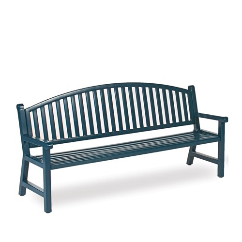 View Heritage 6' mission arch back bench