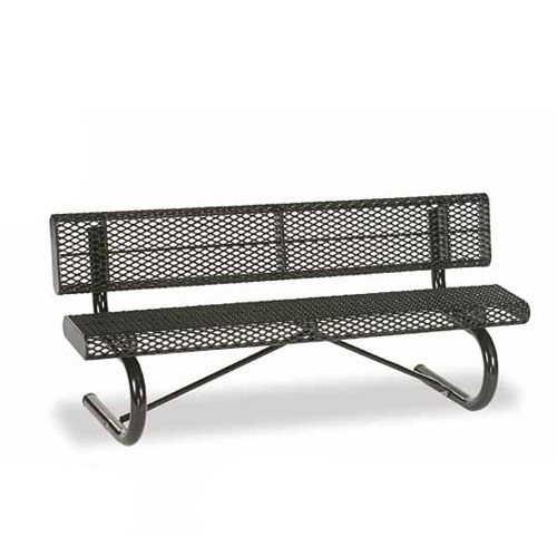 View Prestige 6' bench with back