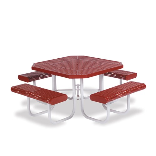 "View Prestige 46"" octagon table"