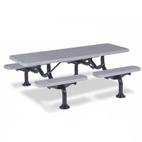 View Spyder 7' picnic table