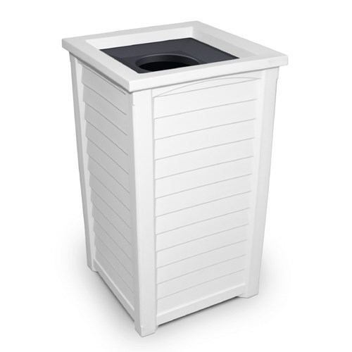 "View Lakeland 38"" Tall Waste Bin"