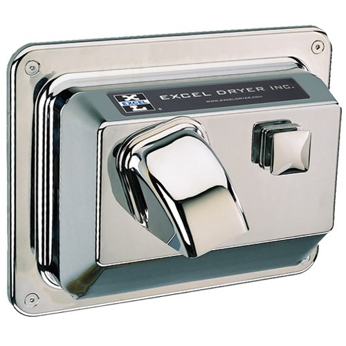 View Recessed Mounted Hands On® Series Chrome Plated Cover