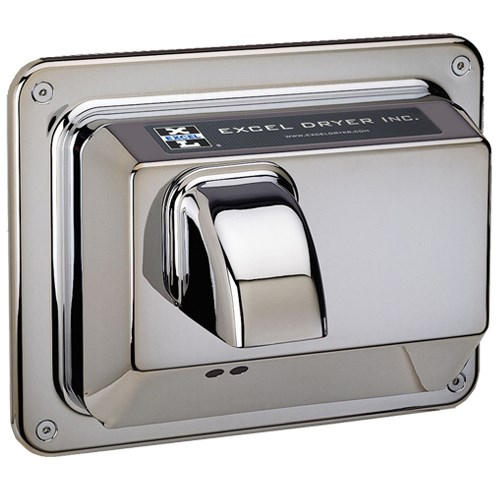View Recessed Mounted Hands Off® Series Automatic Chrome Plated Cover
