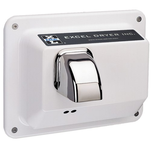 View Recessed Mounted Hands Off® Series Automatic Epoxy Painted Cover