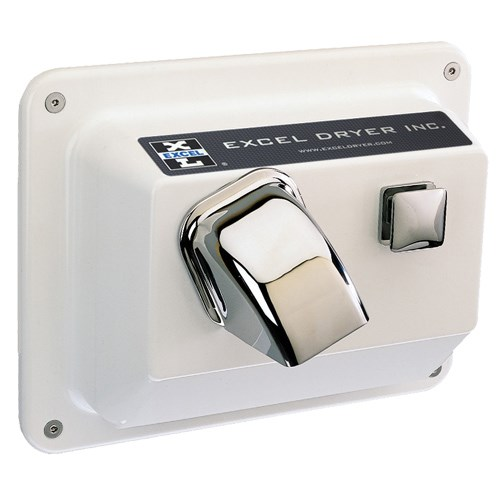 View Recessed Mounted Hands On® Series White Painted Cover