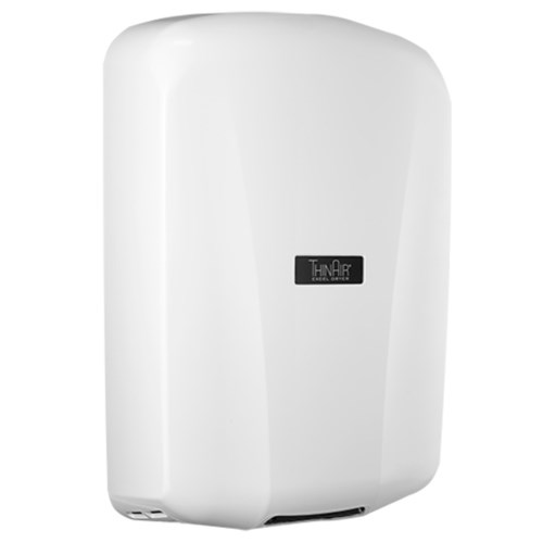 View ThinAir® Hand Dryer: White Polymer (ABS)