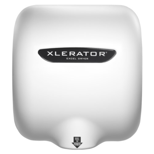 View XLERATOR® Hand Dryer: White Thermoset (BMC) Cover