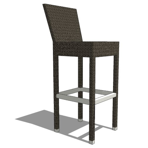 Core Polyrattan Bar Stool (#206)